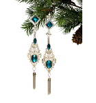 Costume Jewelry Christmas Ornaments