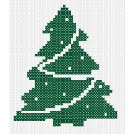 Free Reindeer Christmas Cross Stitch Pattern