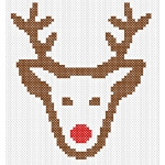 Merry Christmas Free Christmas Cross Stitch Pattern