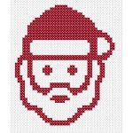 Madonna and Child Free Christmas Cross Stitch Pattern