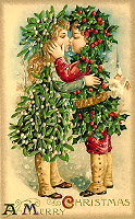 Free victorian Christmas cards