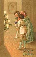 Free vintage Christmas cards in PDF format