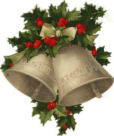 Vintage christmas clipart and - Campanas de navidad ...