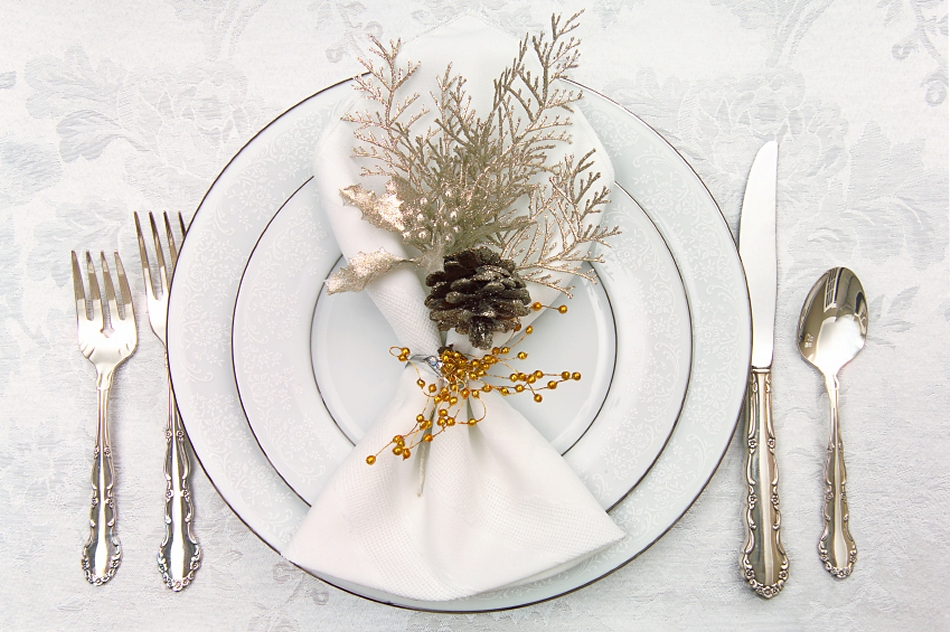 Christmas Place Settings altogether christmas decorating: dining and tabletop christmas