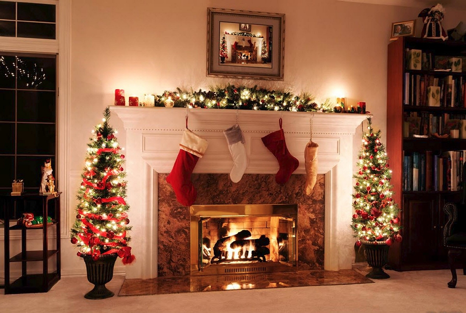Altogether christmas decorating indoor christmas decorating for Indoor xmas decorating ideas