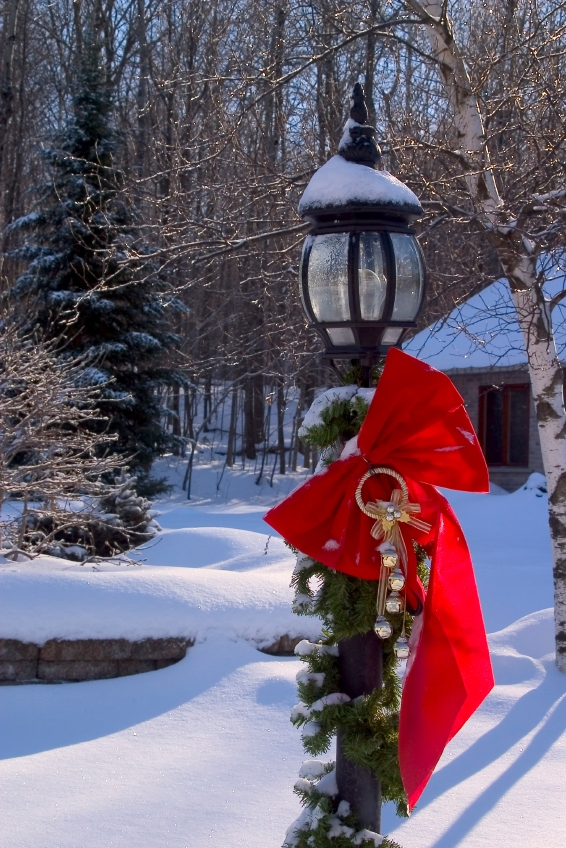 decorating christmas trees decorated lamp post altogether christmas decorating outdoor - Christmas Lamp Post Decoration