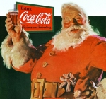 Coca Cola Santa Claus drawing